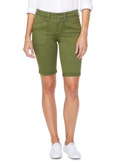 NYDJ Slant Pocket Utility Shorts