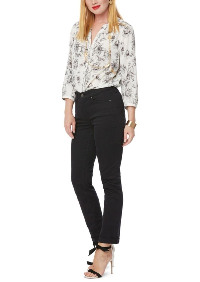 Nydj Slim-Leg Tummy-Control Jeans