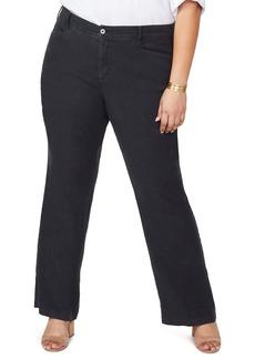 NYDJ Stretch Linen Blend Trousers (Plus Size)