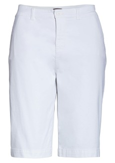 NYDJ Stretch Twill Bermuda Shorts (Regular Size)