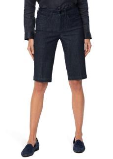 NYDJ Tailored Denim Bermuda Shorts