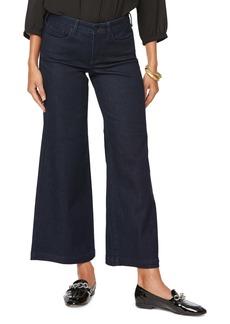 NYDJ Teresa Ankle Wide Leg Jeans (Rinse) (Petite)