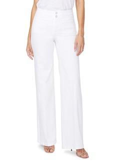 NYDJ Teresa High Waist Wide Leg Trouser Jeans