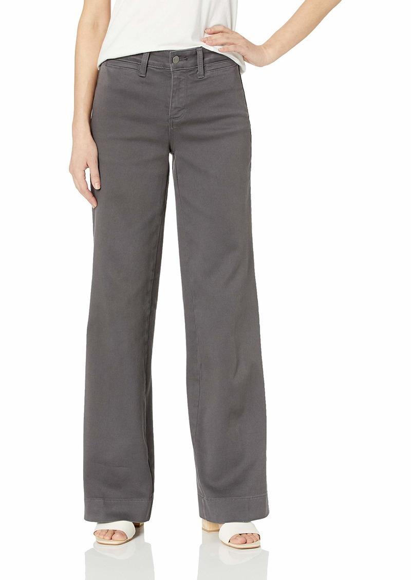NYDJ Teresa Trouser womens Jeans in Premium Denim vintage pewter