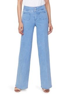 NYDJ Teresa Wide Leg Trouser Jeans (Belle Isle)