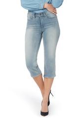 NYDJ ThighShaper High Waist Crop Straight Leg Jeans (Clean Affection)