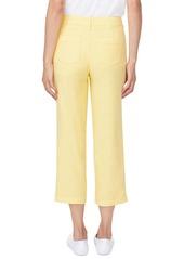 NYDJ Utility Crop Linen Blend Pants (Regular & Petite)