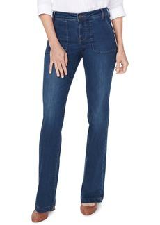 NYDJ Utility Detail Modern Trouser Jeans (Cooper)