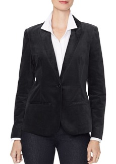 NYDJ Velvet One-Button Blazer