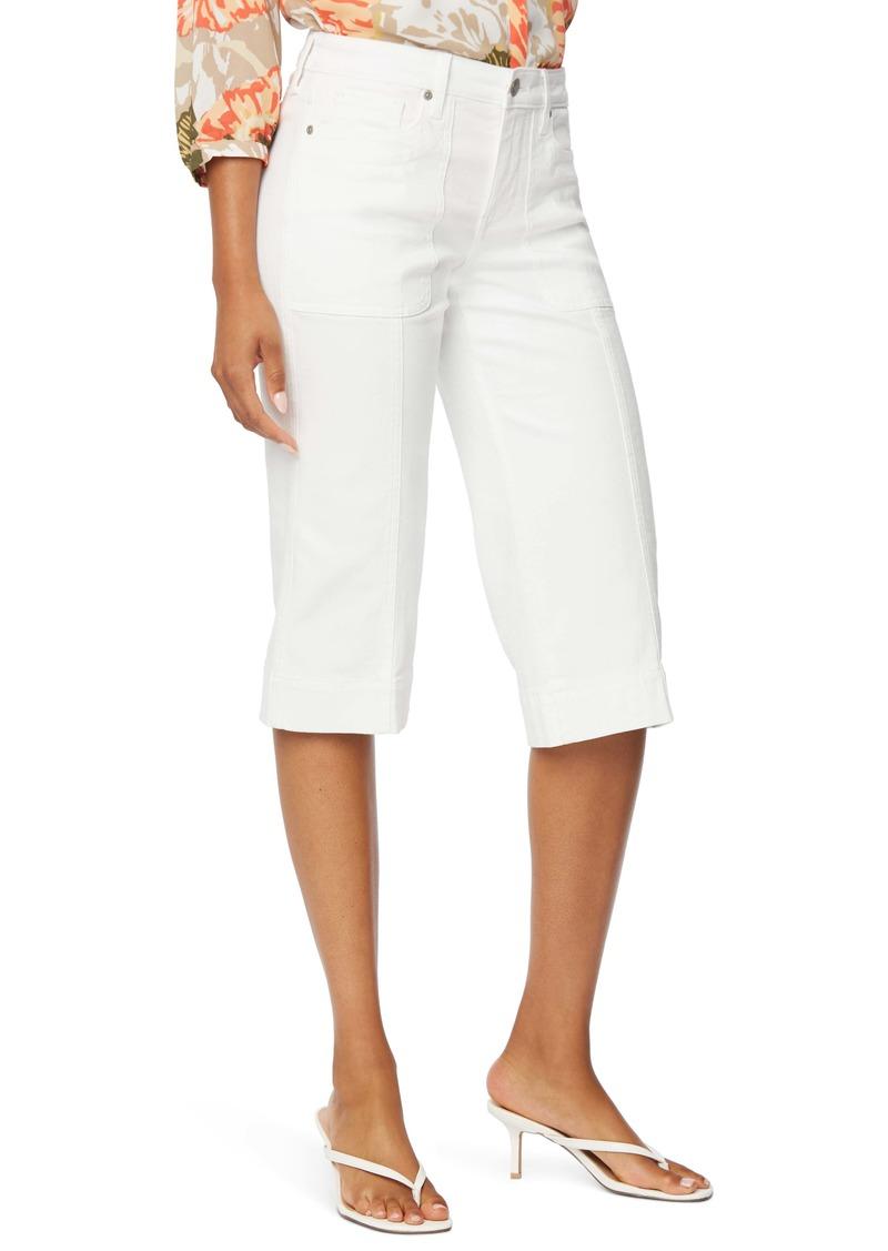 NYDJ Wide Leg Capri Jeans
