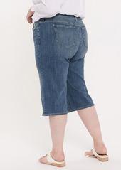 NYDJ Wide Leg Capri Jeans (Plus Size)