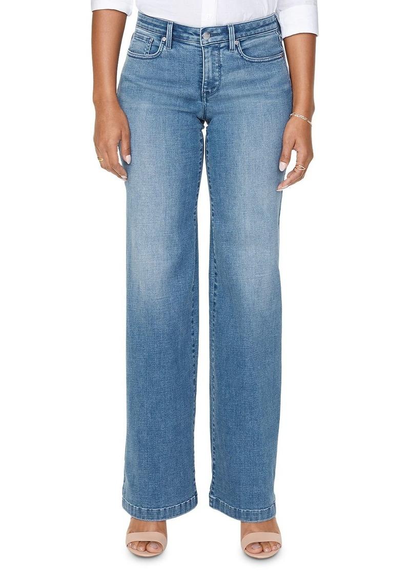 NYDJ Wide-Leg Jeans in Brickell