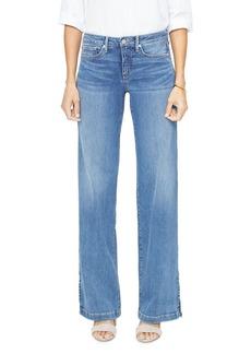 NYDJ Wide-Leg Jeans in Rhodes