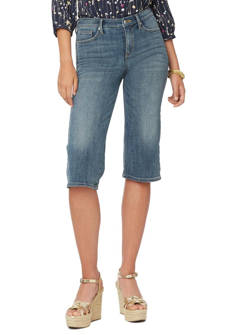 NYDJ Wide Leg Pedal Pusher Jeans (Seline) (Petite)