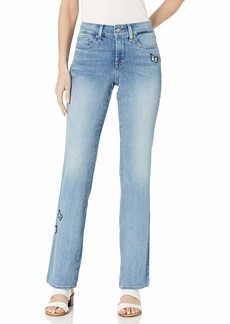 NYDJ Women's Barbara Bootcut with Patches