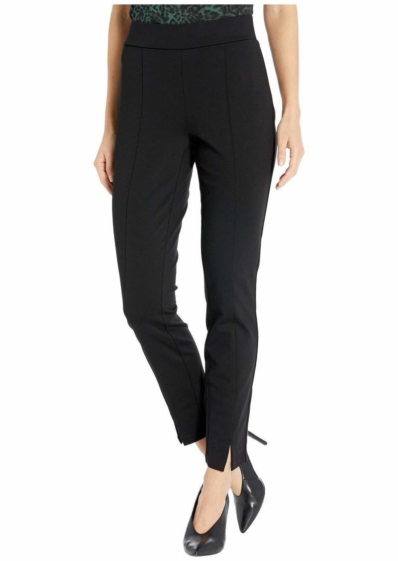NYDJ Women's Basic Ponte Legging with Front Slit