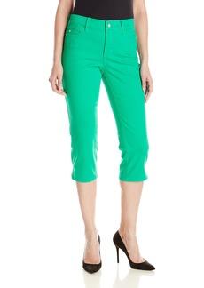 NYDJ Women's Bella Crop Jeans in Bull Denim