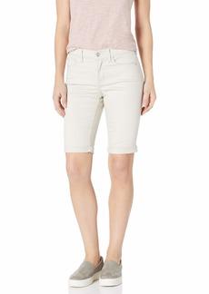 NYDJ Women's Size Briella Roll Cuff Jean Short in Colored Bull Denim