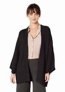 NYDJ Women's Cable Cape Cardigan  S/M