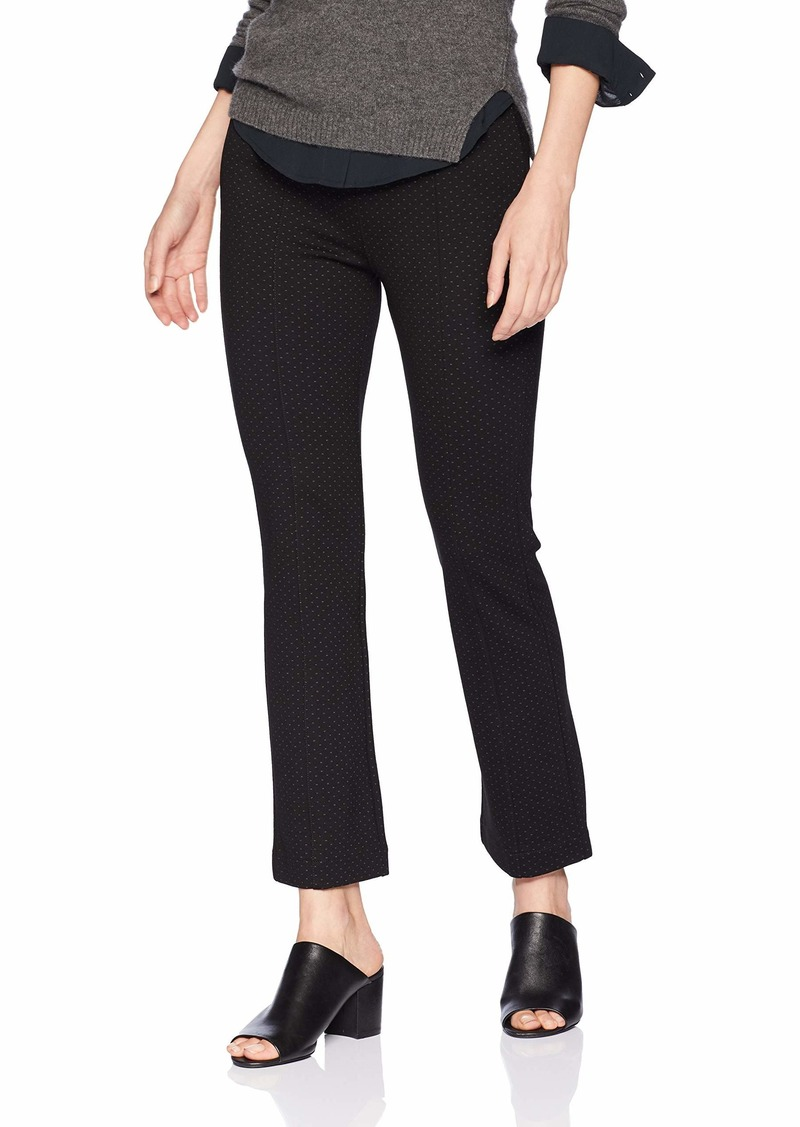 NYDJ Women's Cropped Boot Pull On Pant Micro dot