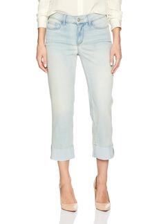 NYDJ Women's Dayla Capri Jeans with Frayed Hem in Cool Embrace Denim