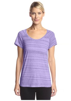 NYDJ Women's Etched Stripe Tee  XS
