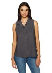 NYDJ Women's Garment Dye Linen Sleeveless Top