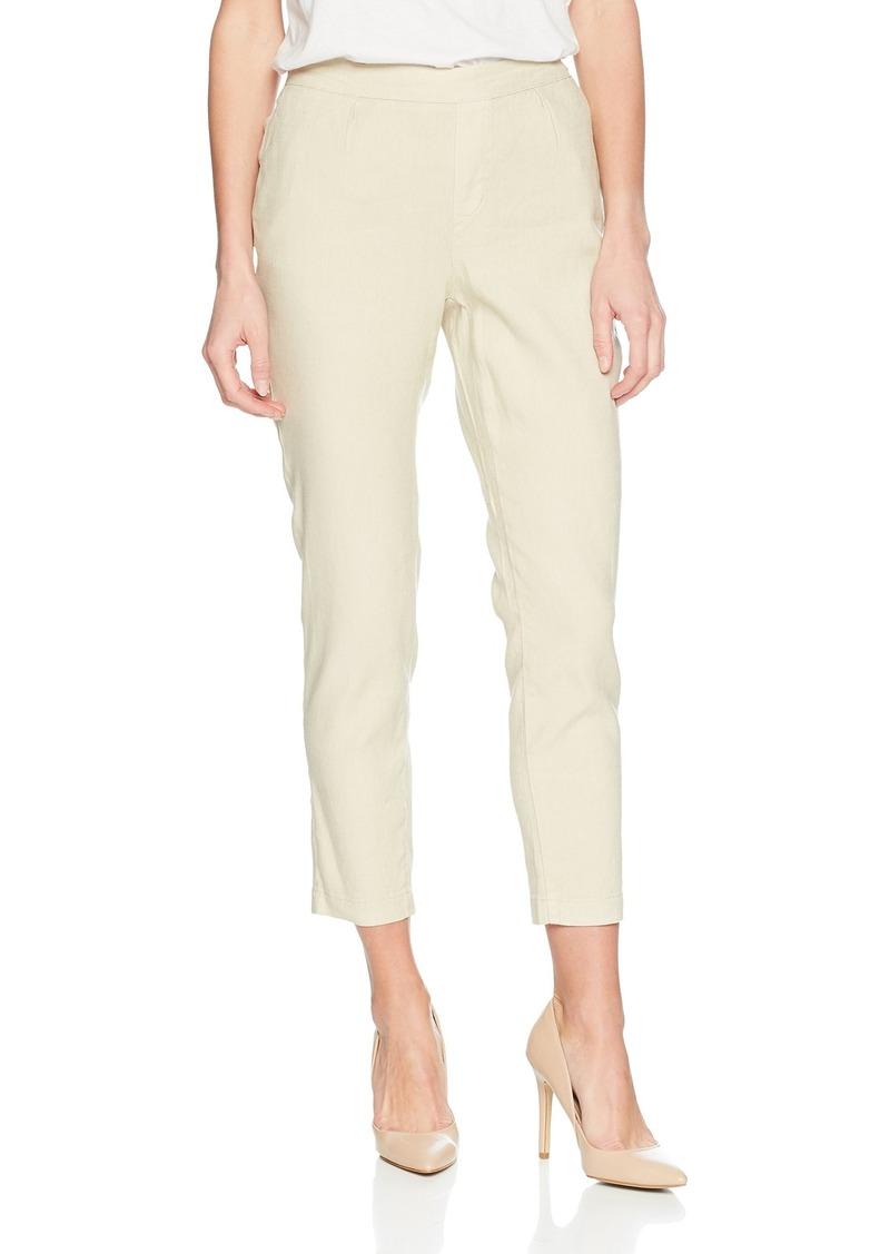 NYDJ Women's Hidden Drawstring Linen Pant