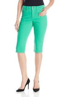 NYDJ Women's Kaelin Skimmer Jean Short in Colored Bull Denim  12