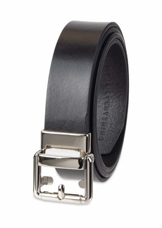 NYDJ Women's Leather Casual Belt with Pressure Lock Technology black