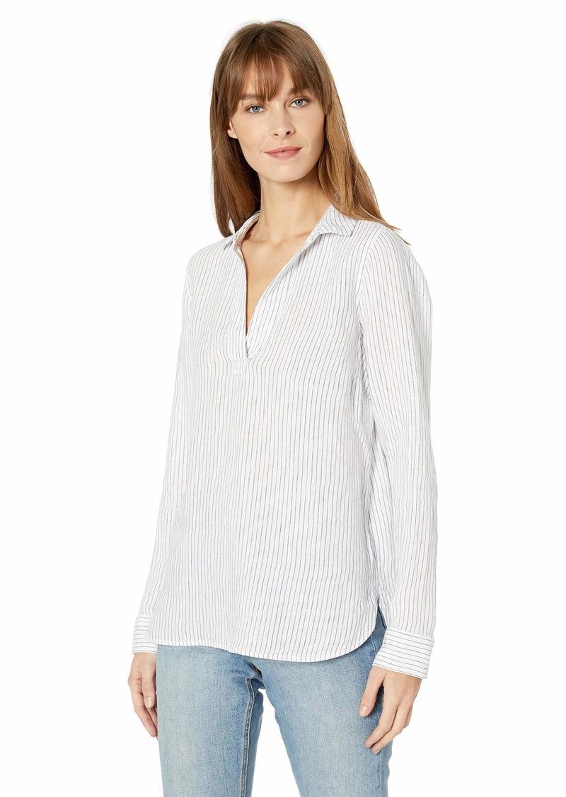 NYDJ Women's Linen Popover Tunic  L