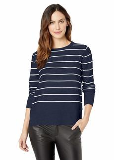 NYDJ Women's Long Sleeve Crew Neck Sweater  M