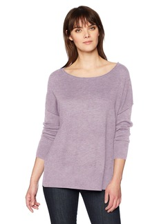 NYDJ Women's Long Sleeve Sweater with Exposed Seams  XL