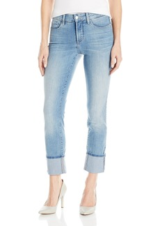 NYDJ Women's Lorena Wide Cuff Boyfriend Jeans