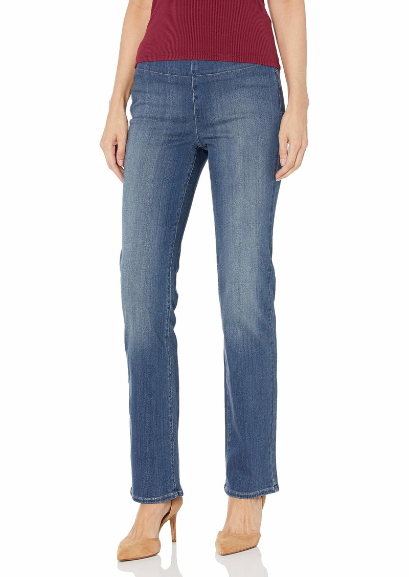 NYDJ Women's Marilyn Straight Pull ON Jeans