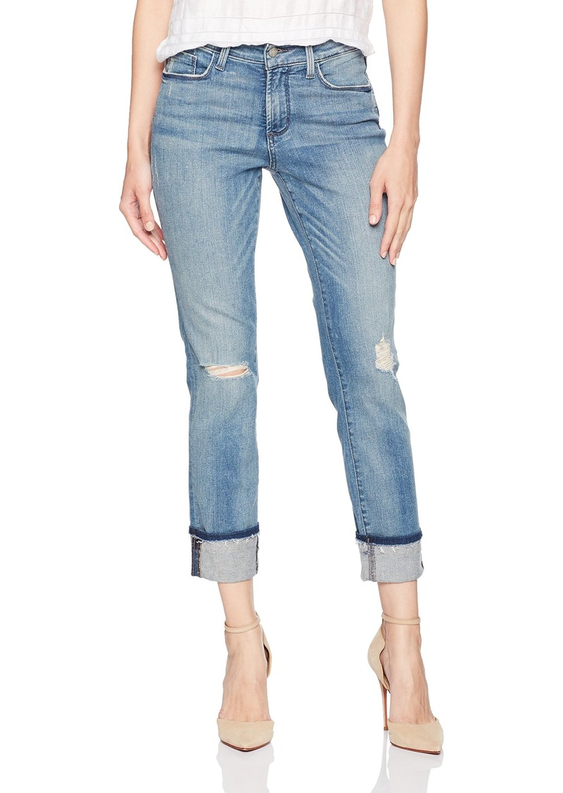 NYDJ Women's Marnie Boyfriend Jeans in Premium Lightweight Denim PALOMA RIPS