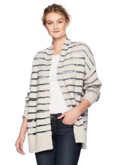 NYDJ Women's Metallic Striped Cardigan  S/M