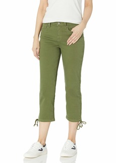 NYDJ Women's Misses Capri Jeans with Drawcord Hem