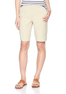 NYDJ Women's Petite Bermuda Linen Short