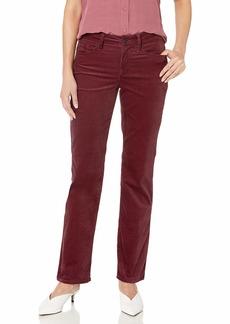 NYDJ Women's Petite Marilyn Straight Leg Velvet Jeans  14P