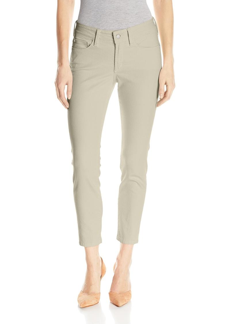 NYDJ Women's Petite Size Alina Skinny Convertible Ankle Jeans  14P
