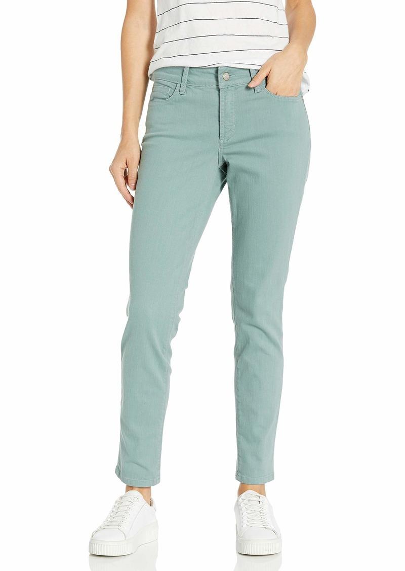 NYDJ Women's Petite Size Alina Skinny Convertible Ankle Jeans  4P