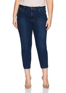 NYDJ Women's Plus Size Alina Ankle Jeans