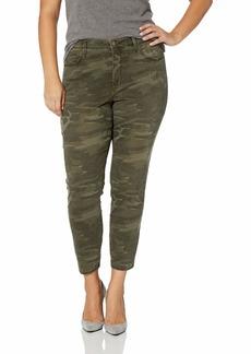 NYDJ Women's Plus Size Ami Skinny Ankle Jean camo