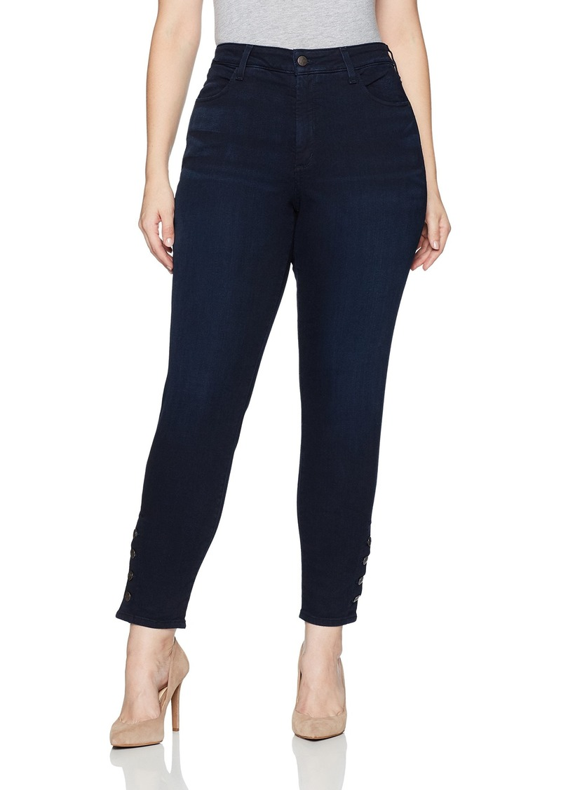 NYDJ Women's Plus Size Ami Skinny Legging Jeans Sinclair with Exposed Sideseam Buttons