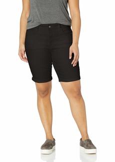 NYDJ Women's Plus Size Briella ROLL Cuff Jean Short