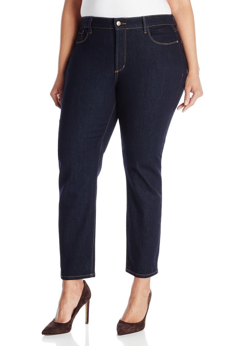 NYDJ Women's Plus-Size Ira Slim Ankle Jeans  Wash