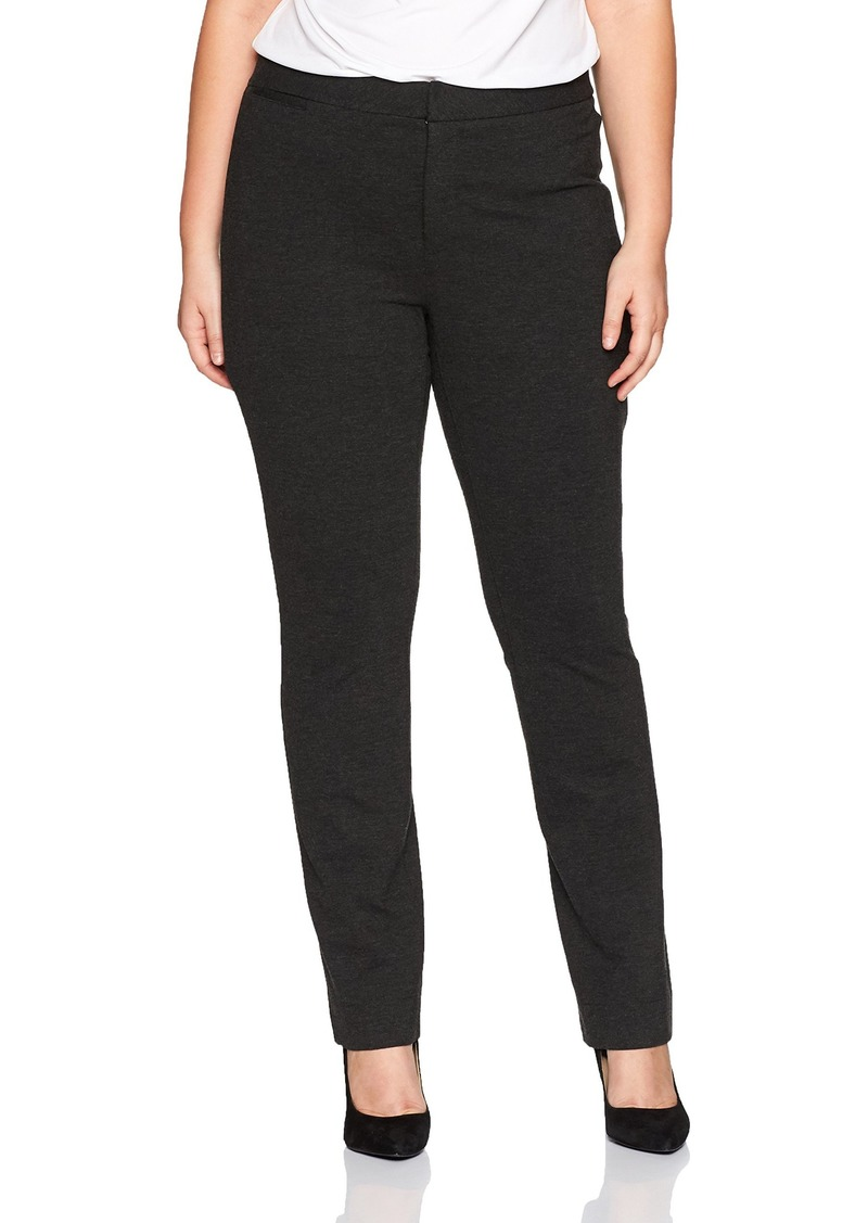NYDJ Women's Plus Size Ponte Trouser  W