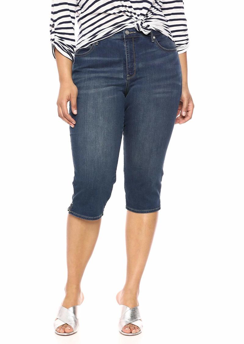 NYDJ Women's Plus Size Skinny Capri in Cool Embrace Denim JUNIPERO