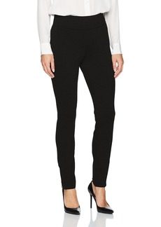 NYDJ Women's Pull On Ponte Knit Leggings with Zippers